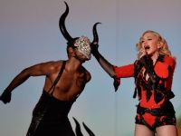 Leatherdesigns Pieces for Madonna´s Grammy Performance 2015